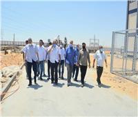 مسئولو «الإسكان» يتفقدون محولات كهرباء تغذية العاشر من رمضان
