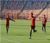 كأس العرب للشباب   من ركلة حرة .. هدف أول لمنتخب مصر فى شباك الجزائر