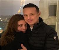 صور.. أول ظهور لـ«ريهام حجاج» مع زوجها محمد حلاوة بعد إعلان حملها