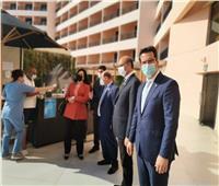 نائب وزير السياحة تتفقد عددا من الفنادق بالقاهرة.. صور