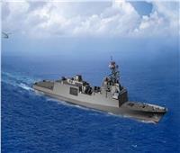 اليابان تطور الخدمة في سلاح البحرية بفرقاطة قتالية حديثة  فيديو