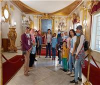 متحف قصر محمد علي يستقبل مجموعة من أطفال دورالأيتام