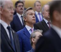 بوشكوف يسخر من رد أوكرانيا بشأن مدمرة بريطانية اعترضتها مقاتلة روسية