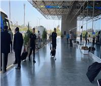 «بيراميدز» يصل مطار القاهرة تمهيدًا للسفر إلى كازبلانكا