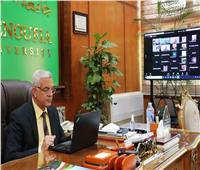 رئيس جامعة المنوفيه: يشهد ندوة اتحاد الجامعات العربية عن المساق الجامعى