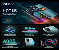 انفينكس تطلق أحدث إصداراتها Infinix Hot 10S