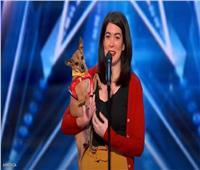 «كاسبر».. أول كلب يغني في برنامج مواهب   فيديو
