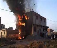 الحماية المدنية بالمنيا: تنجح فى السيطرة علي حريق بقرية بني وركان