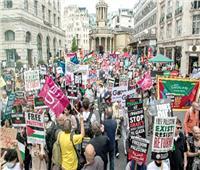 وزير الخارجية الأمريكي يلتقي نظيره الإسرائيلي .. ومظاهرات فى لندن ضد إسرائيل