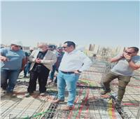 مسئولو «الإسكان» يتفقدون أعمال تنفيذ 74 برجاً ومبادرة الرئيس «سكن لكل المصريين»