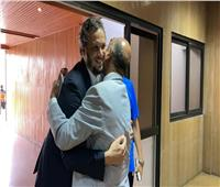 استقبال حافل لرئيس بيراميدز في مركب محمد الخامس
