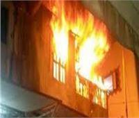 ماس كهربائي وراء حريق شقة سكنية بحلوان
