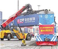 «القطارات» بين الصين وأوروبا تحقق منفعة متبادلة بشكل متسارع