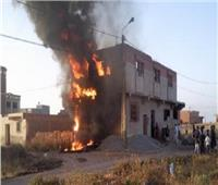 نفوق ماشية في حريق منزل بفرشوط