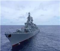 البحرية الروسية تقوم بإطلاق الصواريخ والمدفعية في تدريبات في المحيط الهادئ