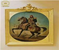 في ذكرى ميلاده.. «المركبات الملكية» يعرض لوحة زيتية عن عباس حلمي الأول