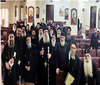 الاجتماع الشهري لكهنة عزبة النخل