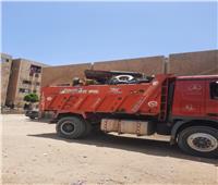 رفع الإشغالات بالحي العاشر بمدينة 6 أكتوبر |صور