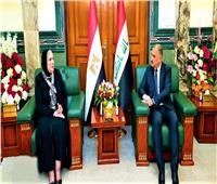 وزيرا الصناعة بمصر والعراق يتفقان على  نقل الخبرة المصرية لتأهيل المصانع العراقية