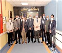 افتتاح وحدة الكلى الصناعي بمستشفى الأطفال في جامعة المنصورة