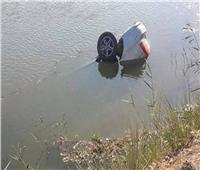 إنقاذ موظفة بعد سقوطها بسيارتها داخل ترعة في قنا