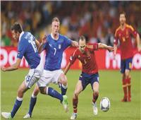 في نصف نهائي اليورو.. معركة «تكسير عظام» بين إسبانيا وإيطاليا