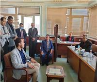رئيس الجمارك يتفقد الاختبارات الشفوية لمسابقة العمل بمصلحة بالقاهرة