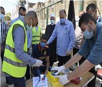 محافظ أسيوط يشهد انطلاق حملة للتبرع بالدم بمركز شباب ناصر
