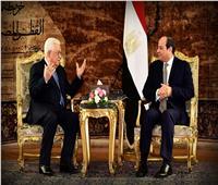 «أبو مازن» يشكر الرئيس السيسي على دعمه لمنتدى غاز شرق المتوسط