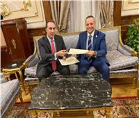 بروتوكول بين البرلمان العربي ومجلس النواب لتعزيز التعاون التكنولوجي