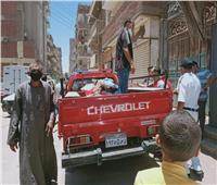 محافظ المنيا يتابع جهود الوحدات المحلية في القطاعات الخدمية