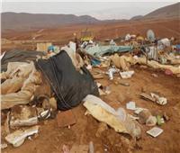 الأردن وفلسطين يدينان هدم الاحتلال «خربة حمصة الفوقا» بالأغوار
