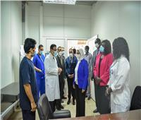 خلال زيارتها جنوب السودان.. وزيرة الصحة تتفقد المركز الطبي المصري في «جوبا»