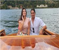 ياسمين صبري وأحمد أبو هشيمة وعطلة صيفية على يخت إيطالي