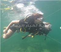 «عائشة بن أحمد» ورحلة في أعماق البحار | صور