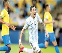 دى ماريا.. أول أرجنتيني يسجل هدفًا في نهائي كوبا أمريكا منذ 2004