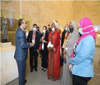 متحف الحضارة يستقبل مشاهير الوطن العربي  صور