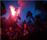 شوارع روما تشتعل احتفالا بتتويج إيطاليا بـ«يورو 2020»| صور وفيديو