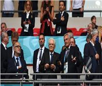 الرئيس الإيطالي يحتفل بأبطال أوروبا في روما