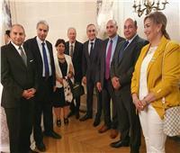 «السفير» مندوب اليونيسكو يناقشان مشاكل الجالية المصرية بفرنسا