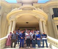 متحف المجوهرات الملكية يستقبل زيارة من جمعية «تراث مصر»
