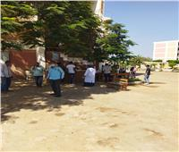 5309 طالب وطالبة يؤدون امتحان اللغة الأجنبية الثانية ببني سويف