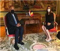 «شكري» يلتقي بنظيرته البلجيكية ويناقش عدة قضايا على رأسها أزمة السد