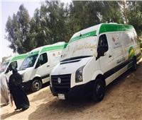 قافلة طبية مجانية للكشف على أهالي قرى مطروح