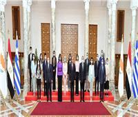 الرئيس السيسي: التعاون بين مصر وقبرص واليونان نموذجاً يحتذى به في شرق المتوسط