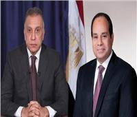 السيسي يعزي رئيس وزراء العراق في ضحايا حريق المستشفى التعليمي