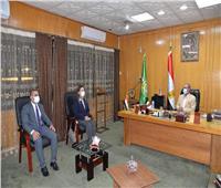 محافظ الإسماعيلية يستقبل نائب وزير الاتصالات للتطوير المؤسسي