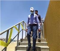 نائب وزير الإسكان يتفقد مشروعات مياه الشرب والصرف الصحي ببني سويف الجديدة