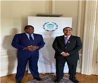 البرلمان العربي: مباحثات مثمرة بين العسومي والأمين العام للاتحاد البرلماني الدولي