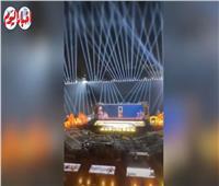 الاستعدادات الأخيرة لإحياء حفل ذكرى ثورة 30 يونيو بستاد القاهرة | فيديو